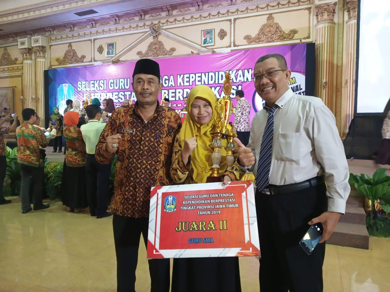 Dewi Insani, Guru Berprestasi Tingkat Provinsi 2019