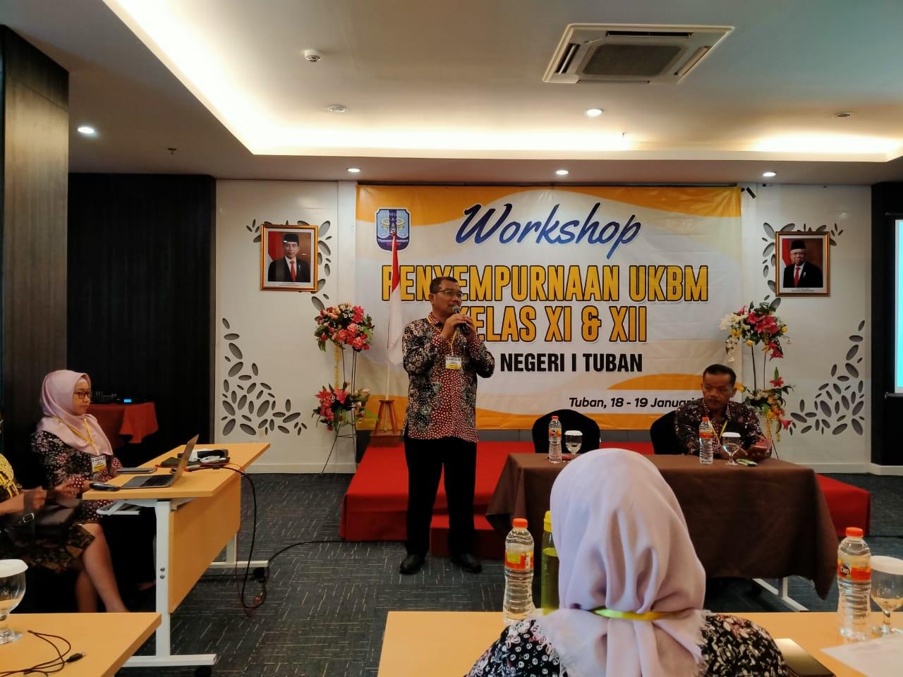 Smansa Tingkatkan Kualitas Guru Melalui Workshop Penyempurnaan Penyusunan UKBM