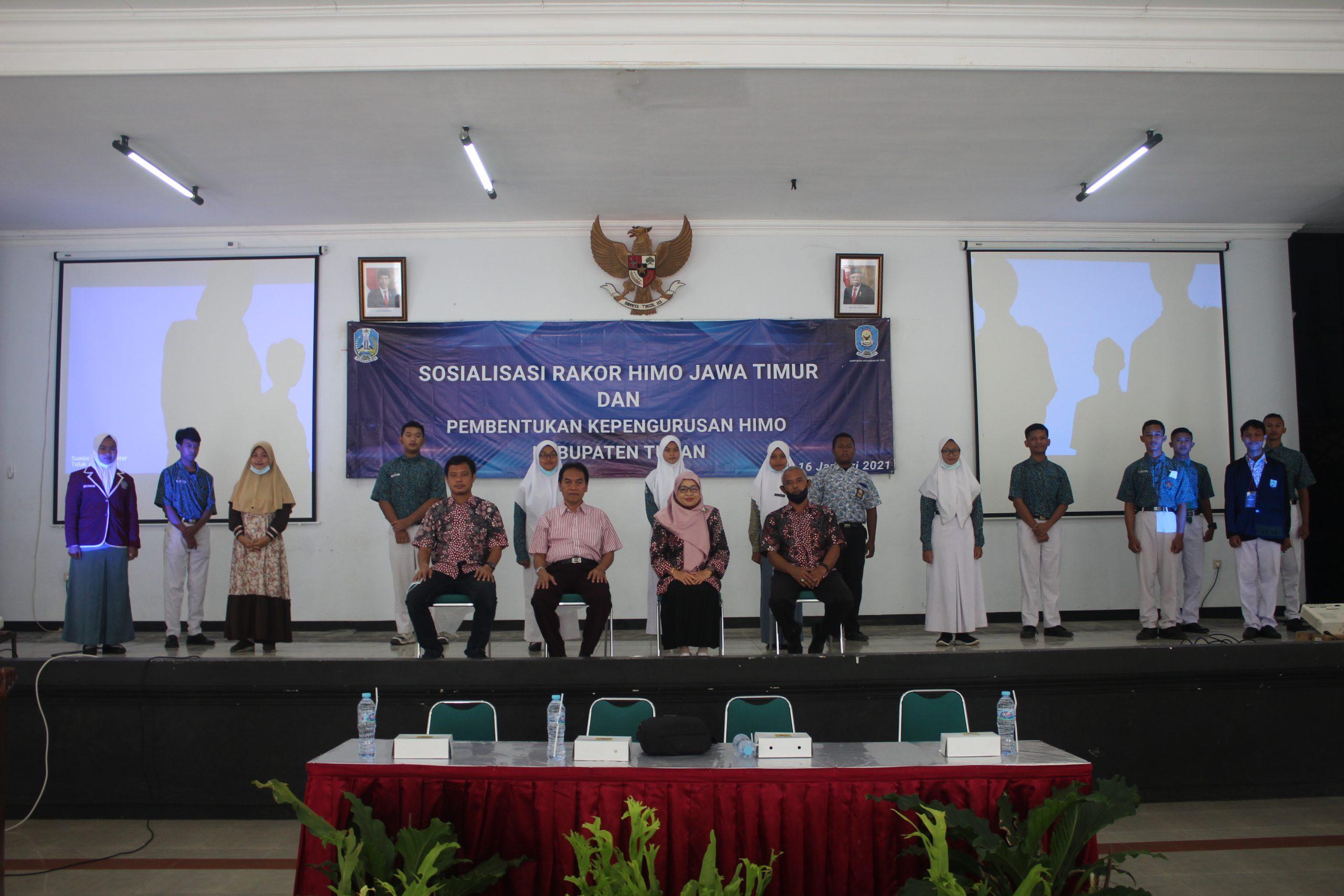 Pembentukan Kepengurusan HIMO Kabupaten Tuban